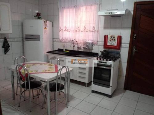 Sobrado Com 3 Dormitórios À Venda, 163 M² Por R$ 630.000,00 - Assunção - São Bernardo Do Campo/sp - So2626