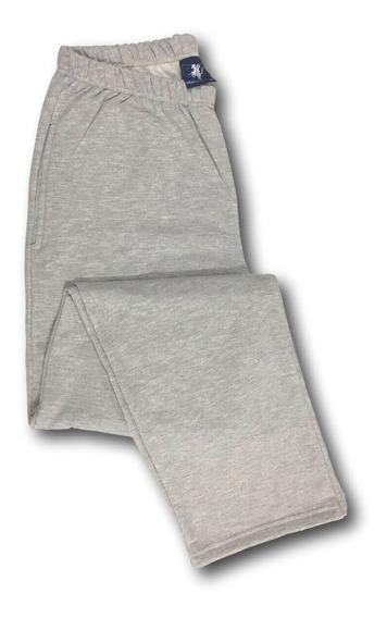 Calça De Moletom Com Bolso Algodão Plus Size G1 A G7 519k