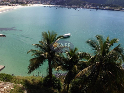 Terreno Residencial À Venda, Pontal Do Atalaia, Arraial Do Cabo. - Te0079