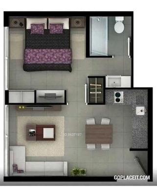 Departamento En Arriendo De 1 Dormitorio En Ñuñoa