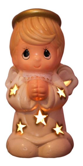 Centro De Mesa Bautizo Baby Shower Angel Ceramica