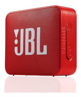 Parlante Jbl Go 2 Portátil Inalámbrico Ruby Red Dtoef