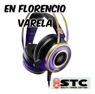 Auriculares Gamer Microfono + Led Noga St-grid Pc/consola