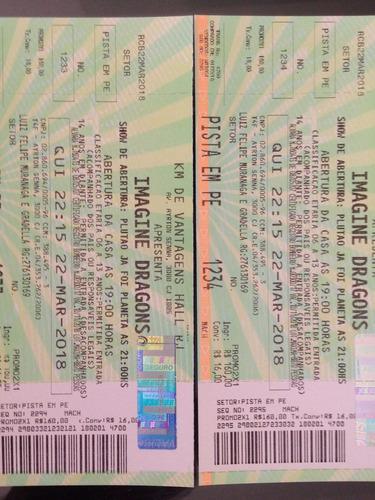 Ingressos Show Imagine Dragons Rio De Janeiro 22/03
