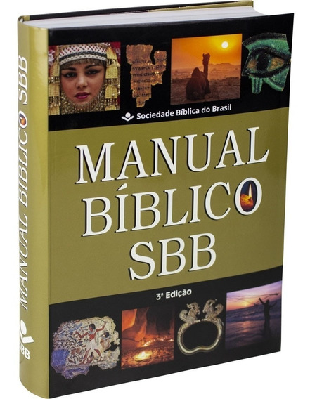 Manual Bíblico Sbb - 3ª Edição Revisada