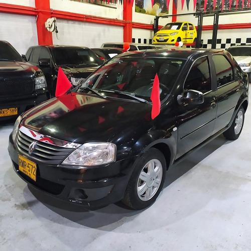 Renault Logan Dynamique 2012 Negro
