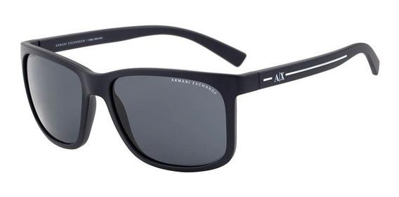 Óculos De Sol Armani Exchange Ax4041sl 81586g/58 Preto