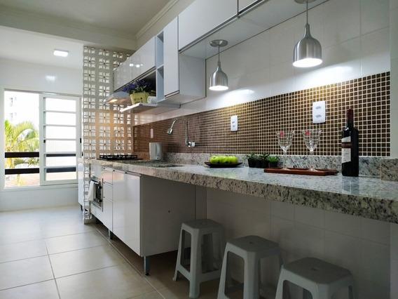Apartamento Recém Renovado 3dorms Próximo A Praia