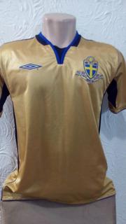 Camisa Seleção Suécia Umbro M Série Ouro - Centenário 2004