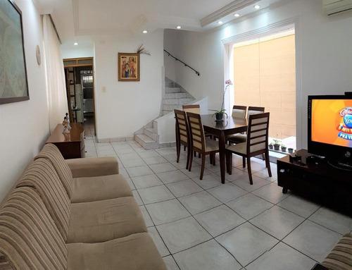 Casa Em Campo Grande, Santos/sp De 190m² 3 Quartos À Venda Por R$ 730.000,00 - Ca609948