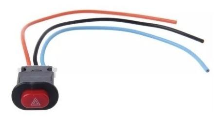 Interruptor Botao Auxiliar Pisca Alerta Universal Moto