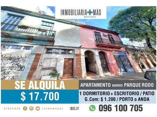 Imagen 1 de 15 de Apartamento Alquiler Parque Rodo Montevideo Imas.uy S *
