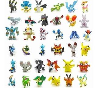 Pokémon Miniaturas Kit Com 24 Bonecos Coleção Pronta Entrega