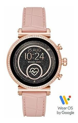 Michael Kors Access Sofie Hr Smartwatch- Alimentado Con Wear