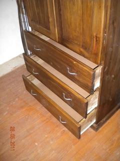 Muebles La Carreta Placard Ropero En Macizo 2 Puertas