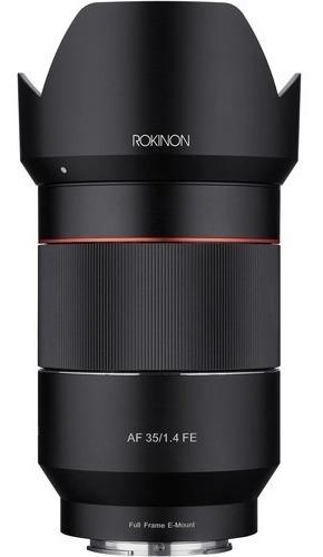 Lente Rokinon Af 35mm F/1.4 Fe Sony E-mount - C/ Recibo