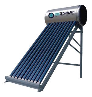 Termotanque Solar 100 L Kit Eléctrico Barra De Mg Cert Inti