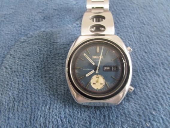 Relogio Seiko Chronograph Automatic 6139-8002 Blue