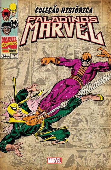 Coleção Histórica Paladinos Marvel Nº 07 Editora Panini Novo