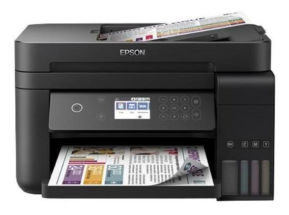 Impressora Multif Epson Ecotank L6171 Tanque Tinta Wi-fi Dir