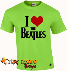 Playera Bandas The Beatles Mod. 02 By Tigre Texano Designs