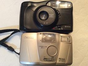 Lote Com 2 Câmaras Fotográficas Antigas - Canon - Yashica