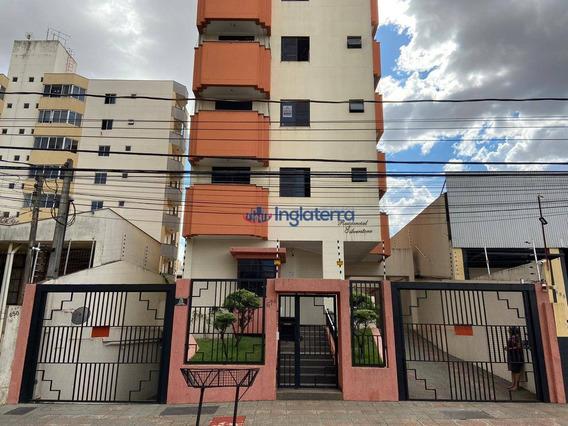 Apartamento Com 3 Dormitórios Para Alugar, 90 M² Por R$ 850,00/mês - Centro - Londrina/pr - Ap1141