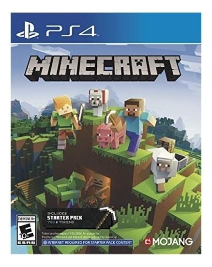 Minecraft Starter Collection - Ps4 Lacrado
