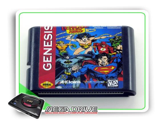 Justice League Task Force Sega Mega Drive /genesis -genérico
