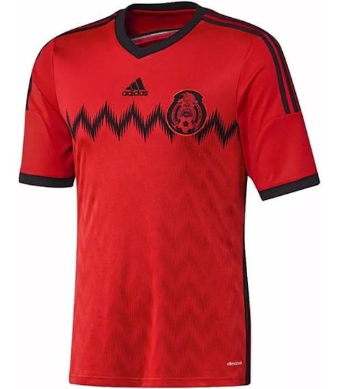 Camisas adidas México Away 2014 - Tamanho G