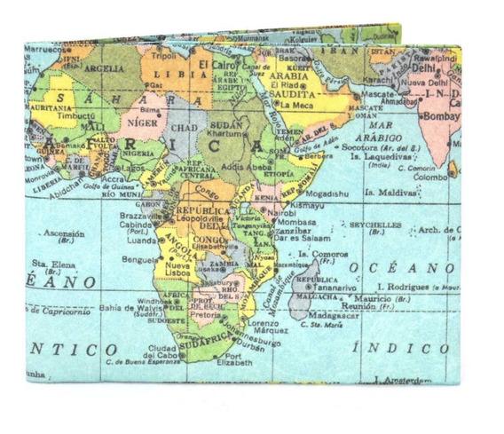 Billetera De Papel Tyvek Monkey Wallets Fabricantes Mapa