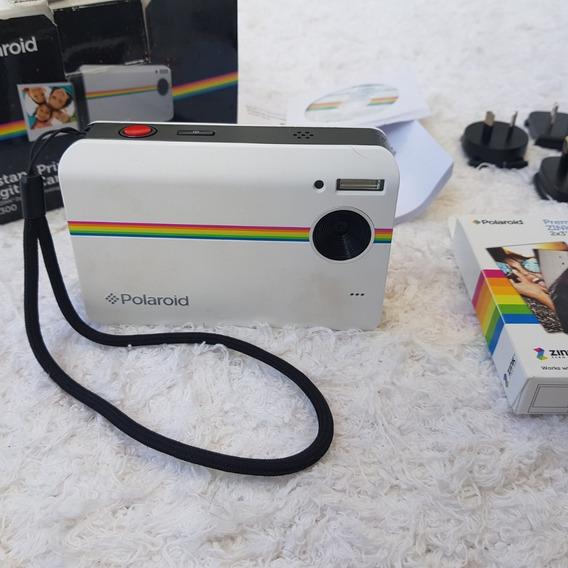 Câmera Polaroid Digital Instantânea 10mp Modelo Z2300 Branca