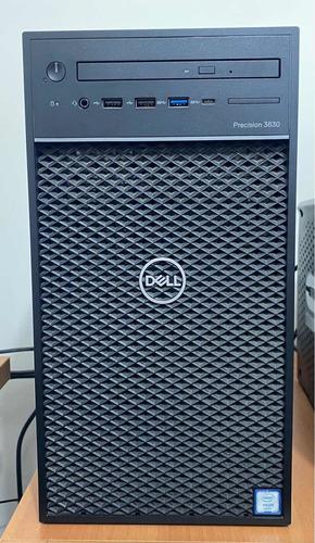 Imagem 1 de 2 de Cpu Dell Precision 3630 Tower