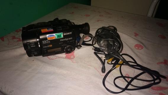Câmera Filmadora Sony .180xdigital Zoom Handycam Video 8