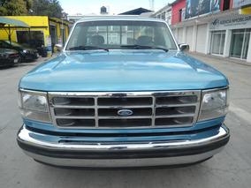 Ford F-150 Modelo 1992 Azul En Excelente Condiciones