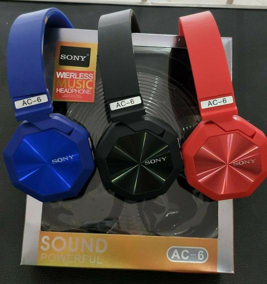 Audifonos Inalambricos Sony Ac-6 Bluetooh Sd 12$ Al Mayor