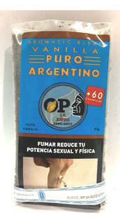 Tabaco Puro Argentino 50gr- +60 Cigarrillos Local Once
