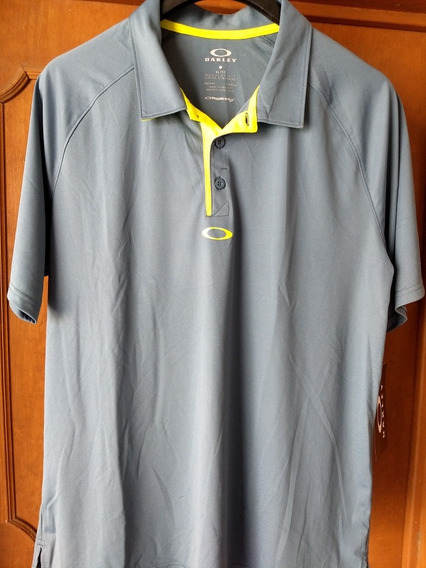 Oakley Golf Playera Tipo Polo Talla Xl Adulto