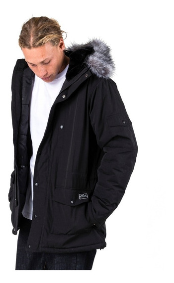 Campera Rusty All In Fur Trim Parka - Hombre