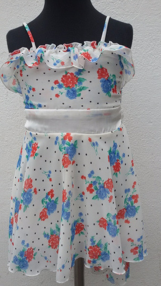 Vestido De Nena - Gasa -