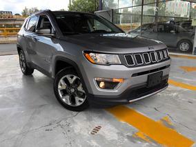 Jeep Compass 2.4 Limited Piel Gps Rin 18 Cámara Revera 2018