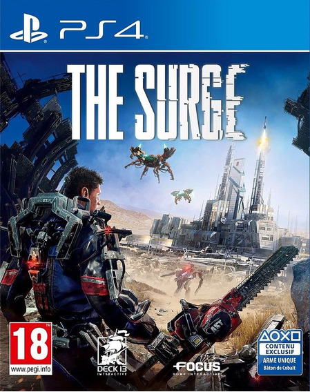 Jogo Mídia Física The Surge Original Playstation 4 Ps4