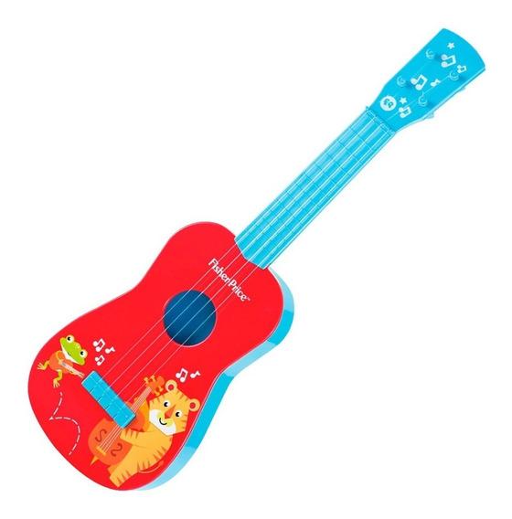 Mi Primera Guitarra Roja Azul De Fisher Price Dfp301f