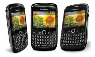 Celular Blackberry Modelo 8520 Negro Pim Activo Ultimos