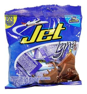 Chocolatina Jet Line Bolsa X 24und