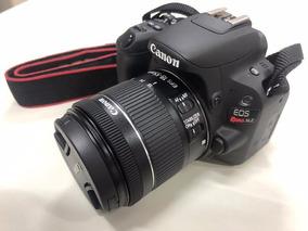 Canon Sl2 Com Lente 18-55mm + 2 Baterias Extras