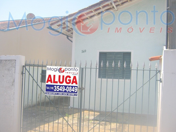 Casa Para Aluguel, 1 Dormitórios, Vila Pichatelli - Mogi Mirim - 276