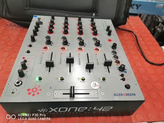 Mixer Allen & Heath Xone 42 Usb 4 Canais Perfeito!!