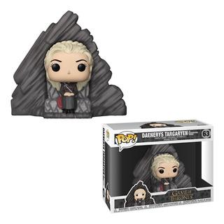 Funko Pop Game Of Thrones Daenerys Targaryen Dragonstone #63