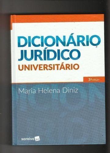 Dicionário Jurídico Universitário 3ª Edição